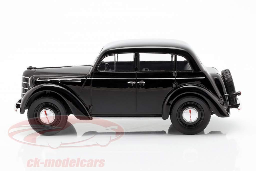 Opel Kadett K38 Opførselsår 1938 sort 1:18 KK-Scale