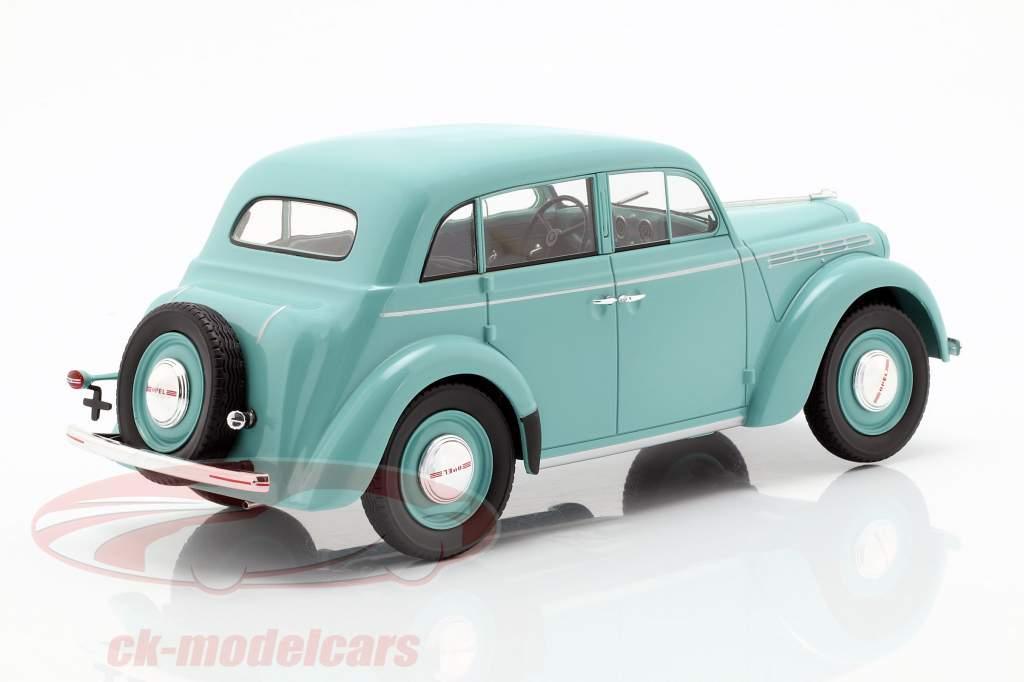 Opel Kadett K38 anno di costruzione 1938 azzurro 1:18 KK-Scale