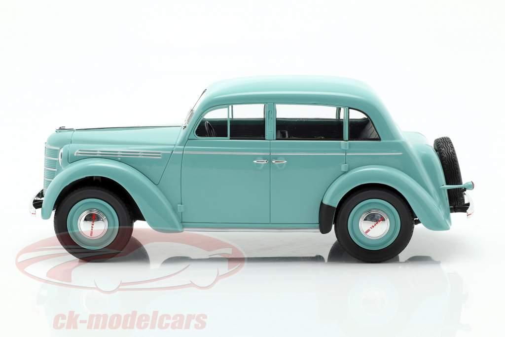 Opel Kadett K38 año de construcción 1938 azul claro 1:18 KK-Scale