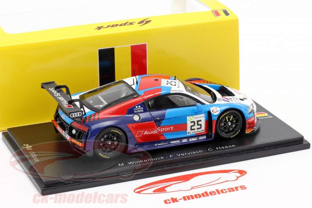 Audi R8 LMS #25 4 24h Spa 2018 Audi Sport Team Sainteloc 1:43 Spark