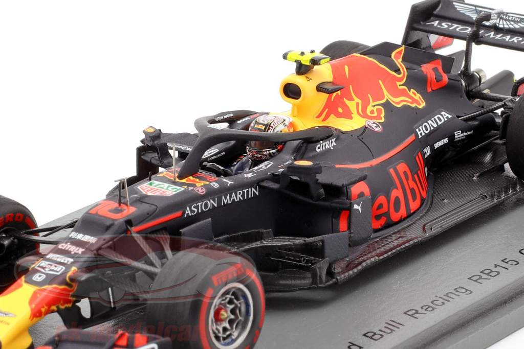 Pierre Gasly Red Bull Racing RB15 #10 6ª chinês GP fórmula 1 2019 1:43 Spark