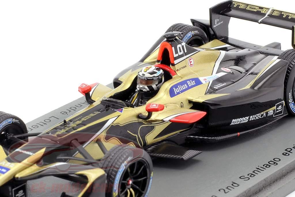 Andre Lotterer Renault Z.E.17 #18 2 ° Santiago ePrix formula E 2017/18 1:43 Spark