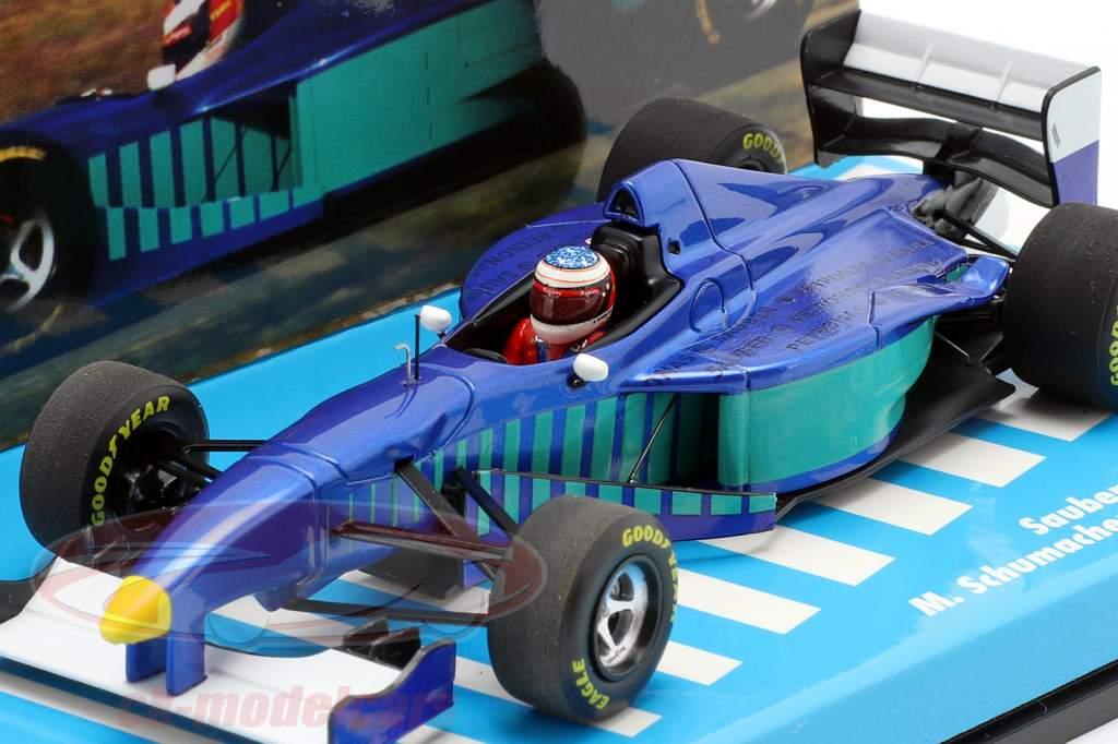 M. Schumacher Sauber C16 test Fiorano formule 1 1997 1:43 Minichamps