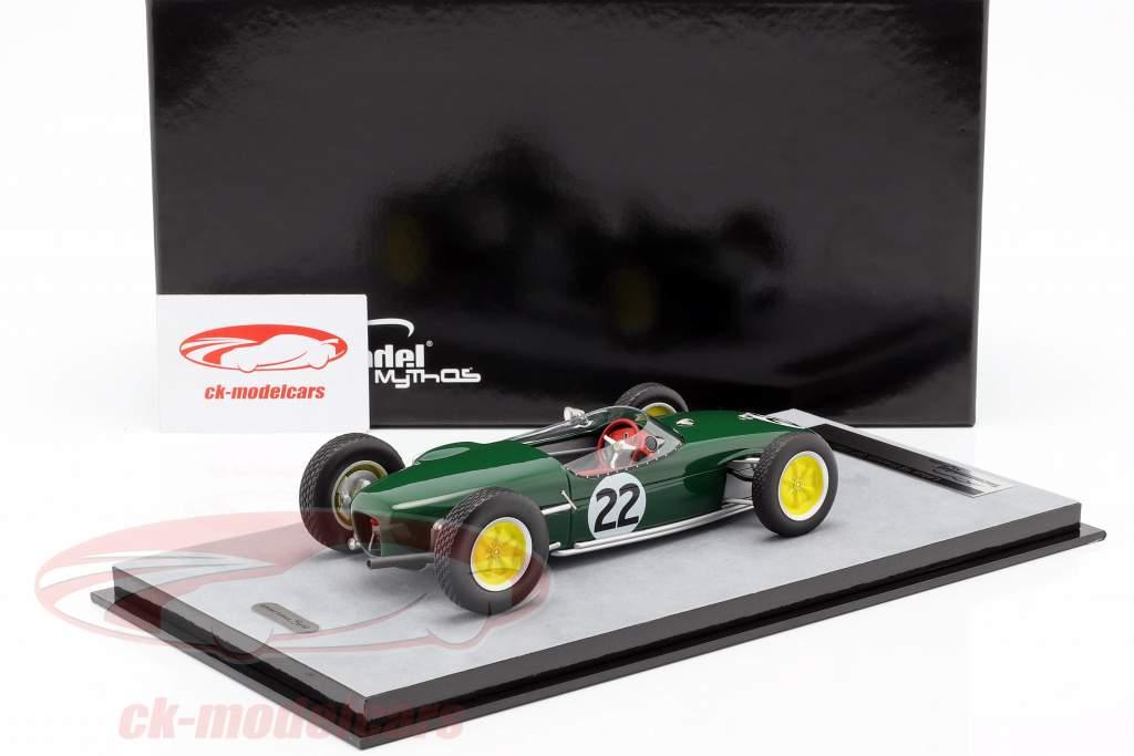 Ron Flockhart Lotus 18 #22 francês GP fórmula 1 1960 1:18 Tecnomodel