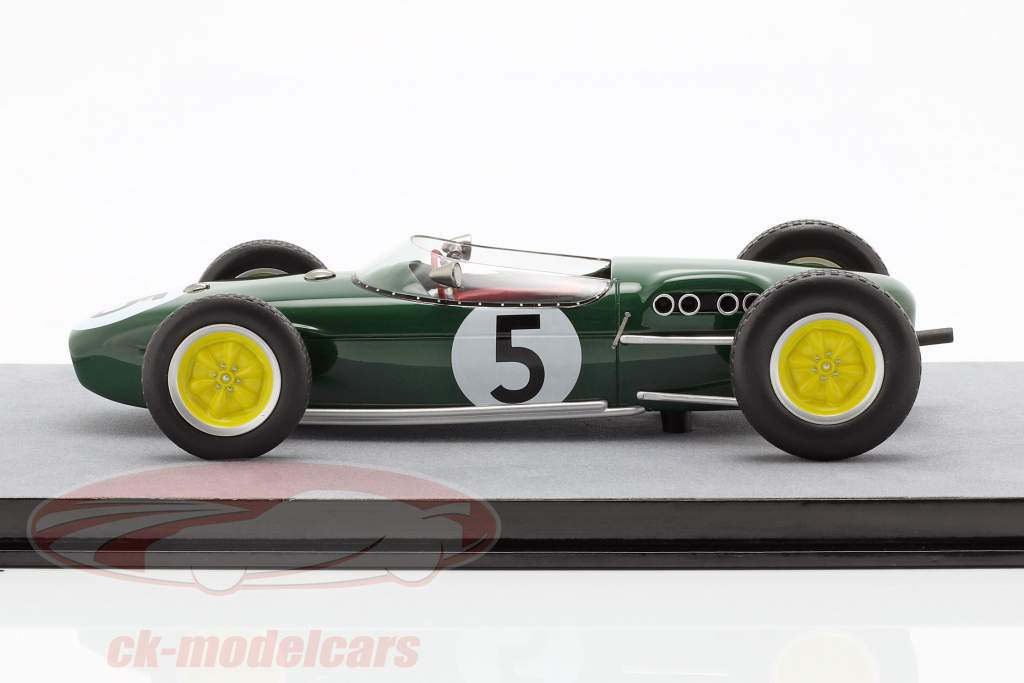 Alan Stacey Lotus 18 #5 néerlandais GP formule 1 1960 1:18 Tecnomodel