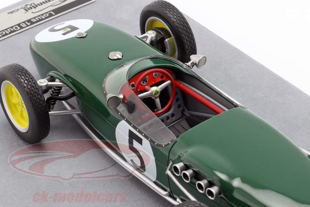 Alan Stacey Lotus 18 #5 holandés GP fórmula 1 1960 1:18 Tecnomodel