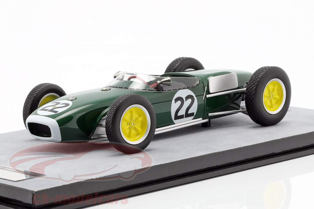 Ron Flockhart Lotus 18 #22 Frankreich GP Formel 1 1960 1:18 Tecnomodel