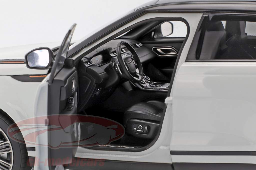 Land Rover Range Rover Velar Opførselsår 2018 hvid 1:18 LCD Models
