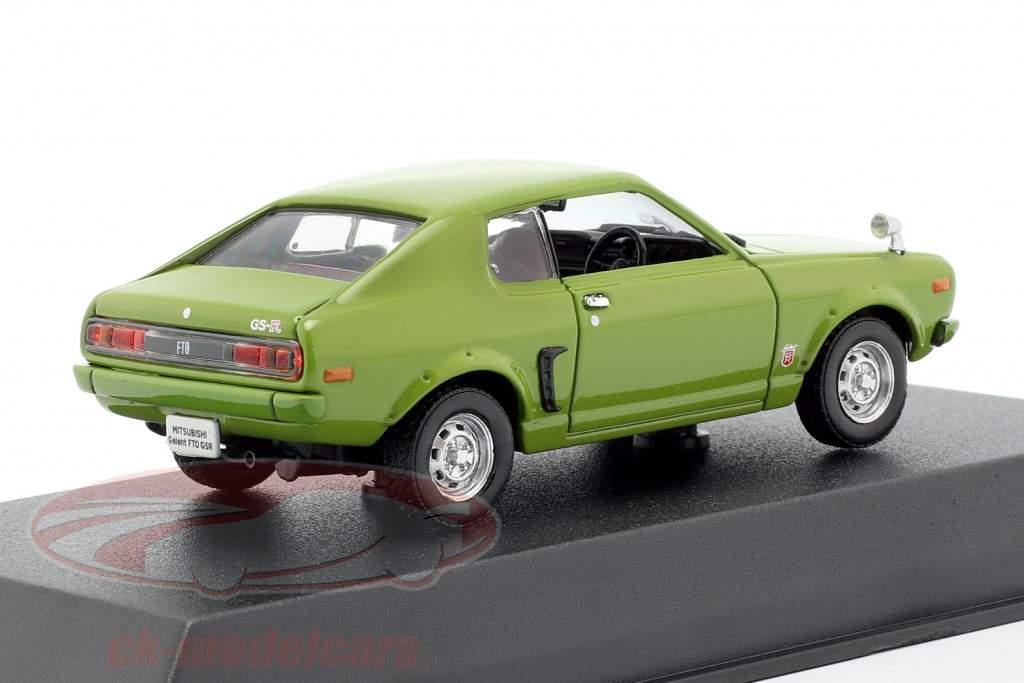 Mitsubishi Galant FTO GSR Opførselsår 1973 grøn 1:43 Norev