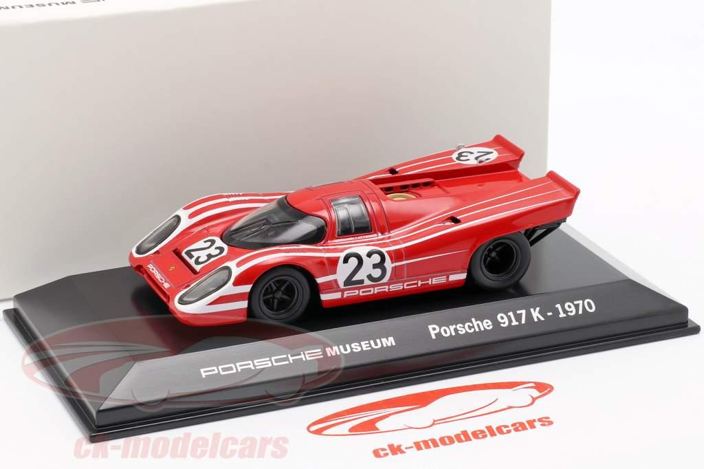 Porsche 917 K #23 Vinder 24h LeMans 1970 Porsche KG Salzburg 1:43 Welly