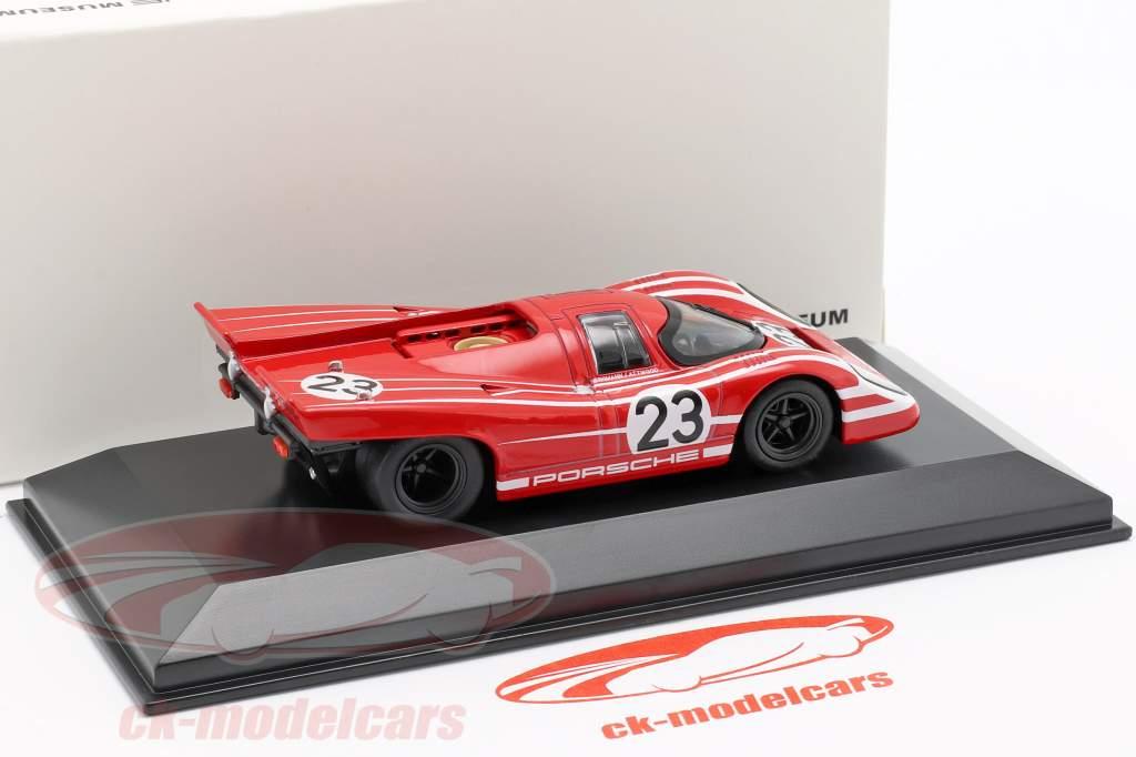 Porsche 917 K #23 Winnaar 24h LeMans 1970 Porsche KG Salzburg 1:43 Welly