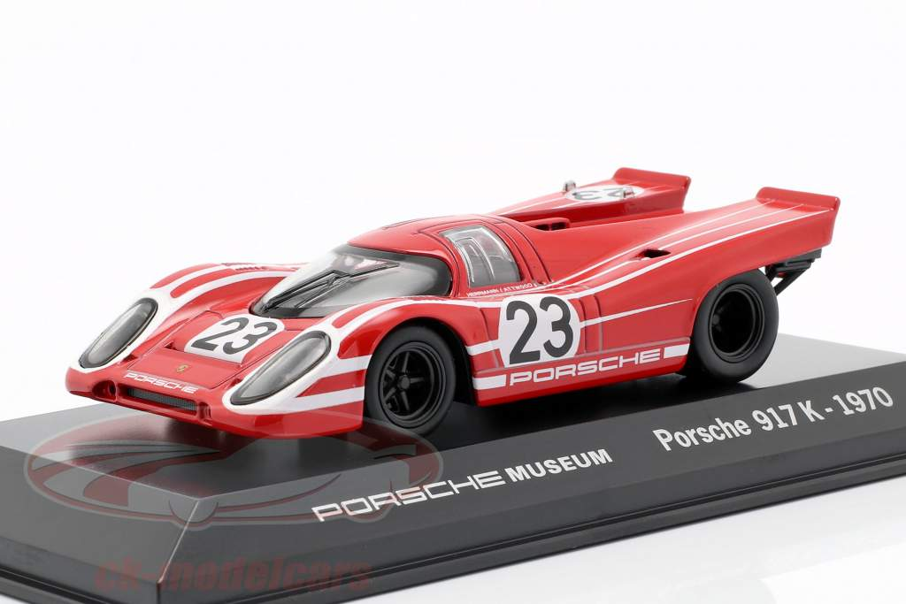 Porsche 917 K #23 Vencedor 24h LeMans 1970 Porsche KG Salzburg 1:43 Welly
