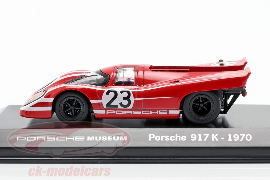 Porsche 917 K #23 Ganador 24h LeMans 1970 Porsche KG Salzburg 1:43 Welly