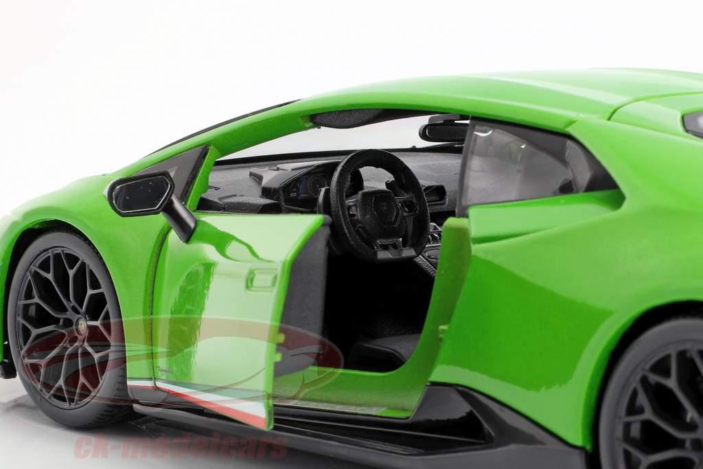Lamborghini Huracan Performante Baujahr 2017 grün metallic 1:18 Maisto