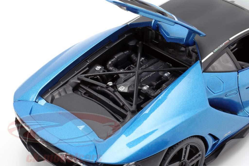 Lamborghini Centenario LP770-4 Baujahr 2016 blau metallic 1:18 Maisto