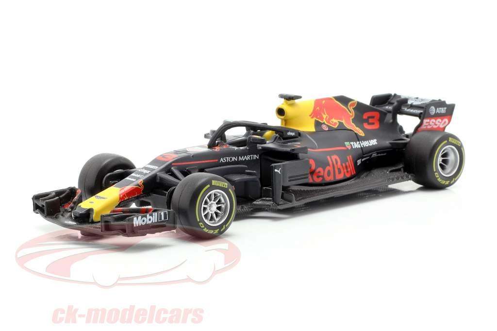 Daniel Ricciardo Red Bull Racing RB14 #3 formule 1 2018 1:43 Bburago