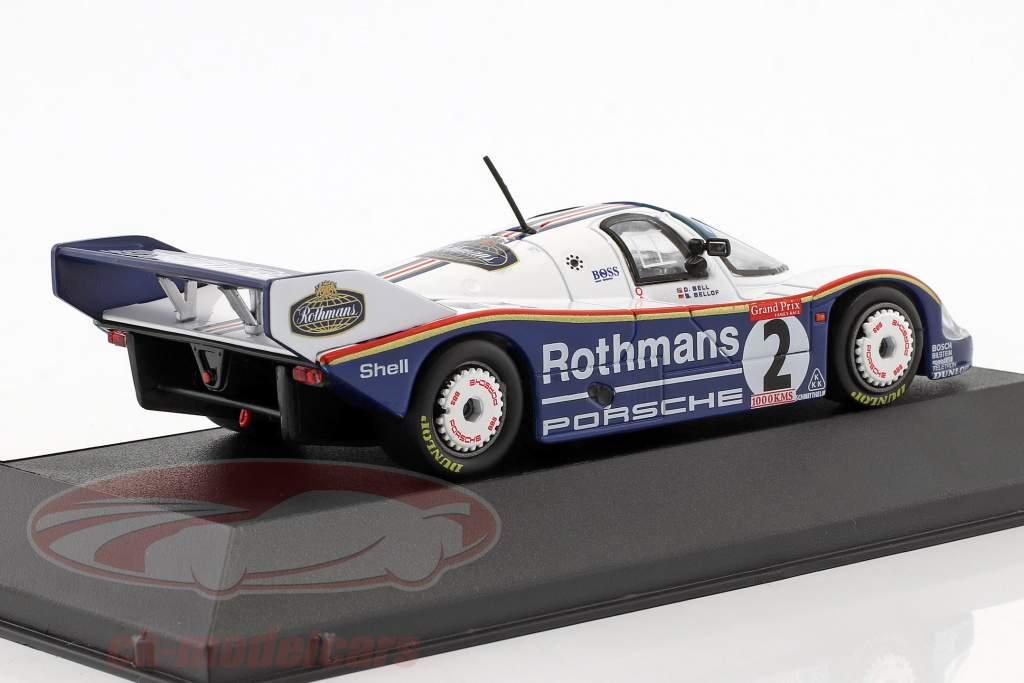 Porsche 956K #2 3ª 1000km Brands Hatch 1983 Bellof, Bell 1:43 CMR