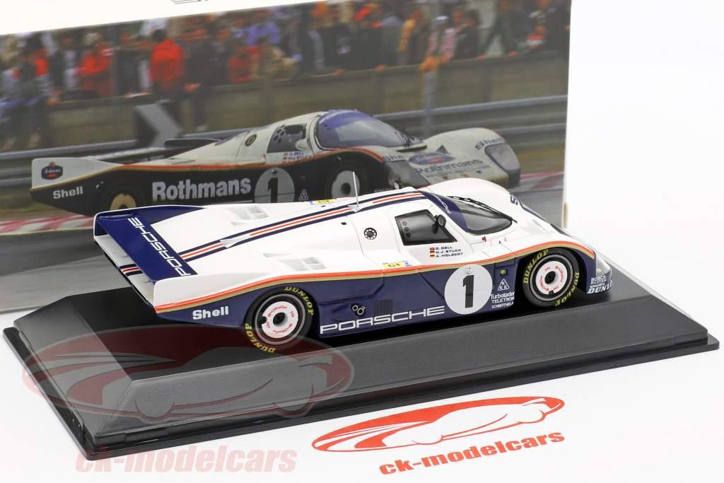 Porsche 962 C LH #1 Ganador 24 LeMans 1986 Bell / Stuck / Holbert 1:43 Spark