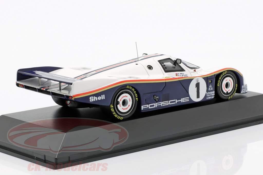 Porsche 962 C LH #1 Winner 24h LeMans 1986 Bell / Stuck / Holbert 1:43 Spark