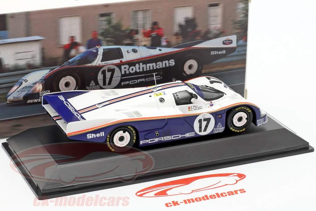 Porsche 962 C LH #17 Winner 24h LeMans 1987 Stuck, Bell, Holbert 1:43 Spark