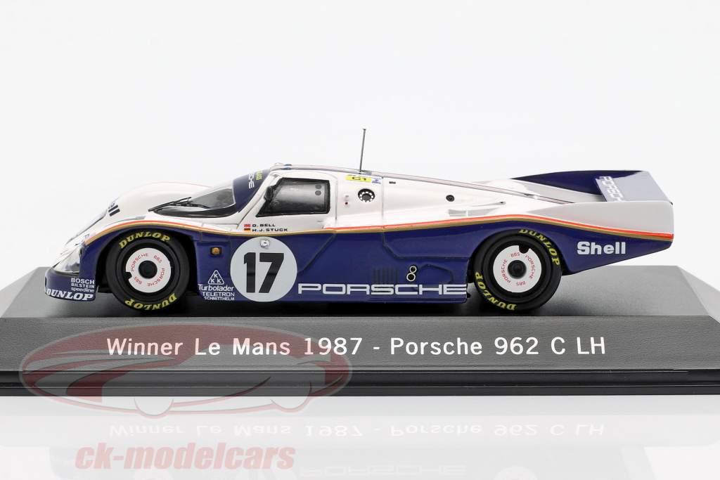 Porsche 962 C LH #17 Vinder 24h LeMans 1987 Stuck, Bell, Holbert 1:43 Spark