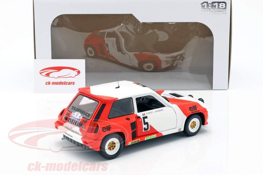 Renault 5 Turbo #5 Rallye du Var 1982 Prost, Andrie 1:18 Solido