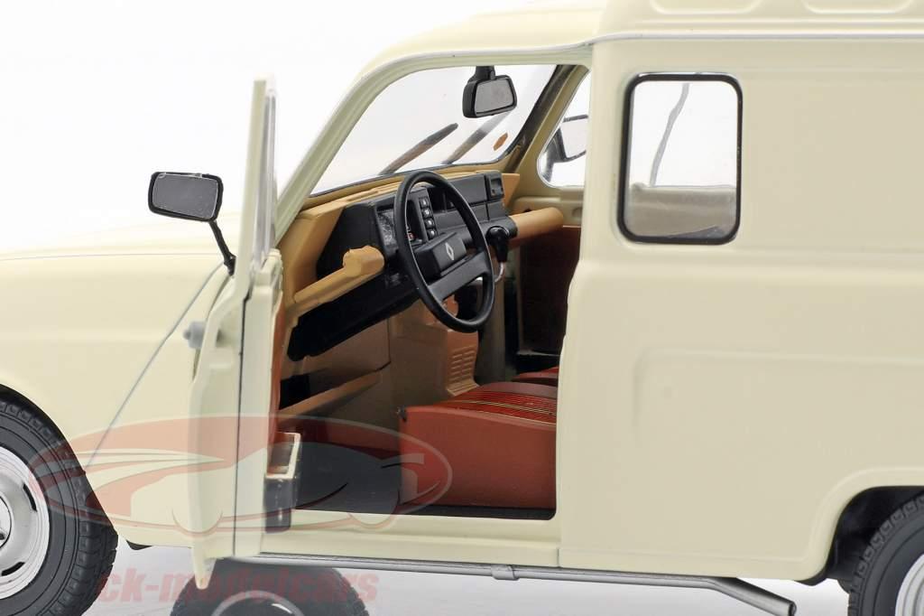 Renault 4LF4 Baujahr 1975 creme weiß 1:18 Solido