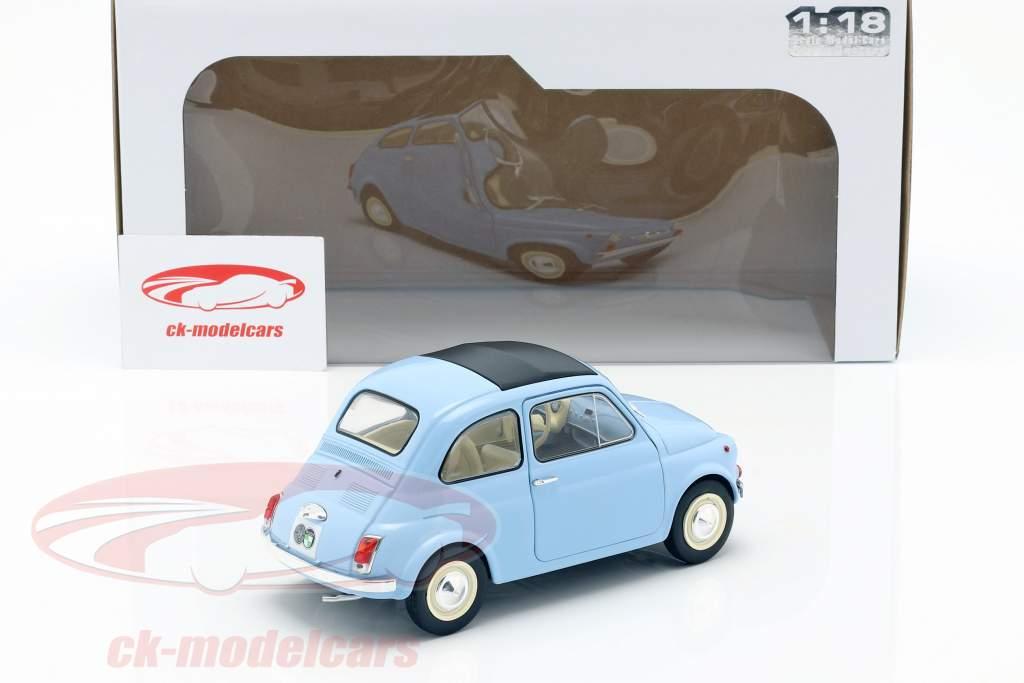 Steyr Puch 500 Bouwjaar 1969 lichtblauw 1:18 Solido