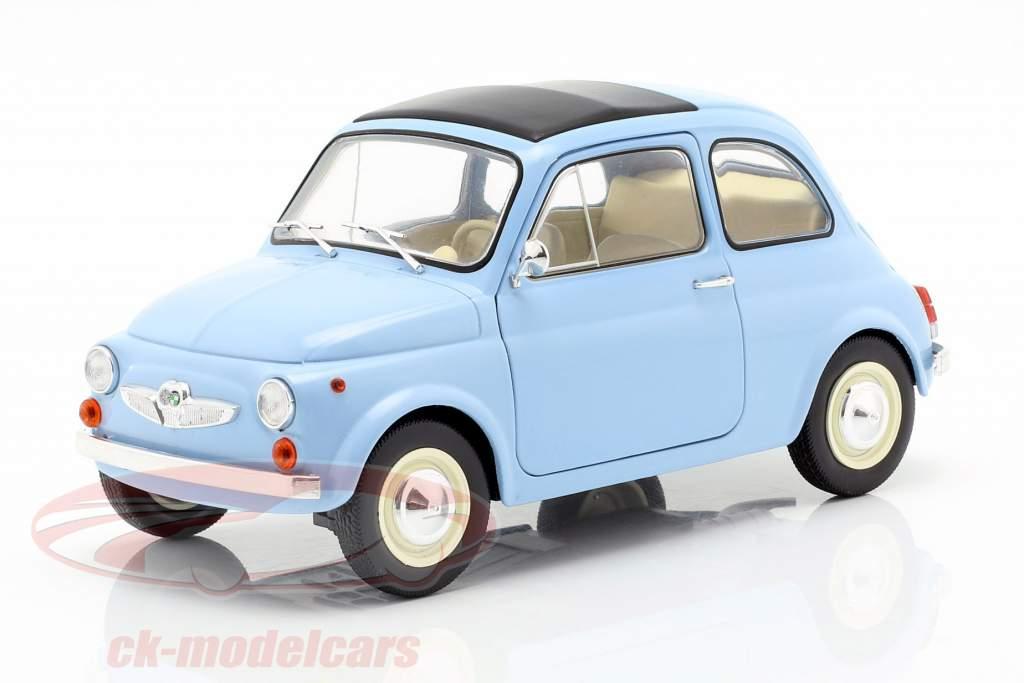 Steyr Puch 500 Opførselsår 1969 lyseblå 1:18 Solido