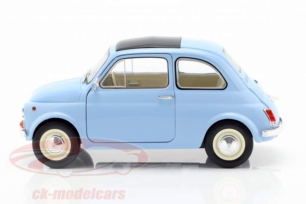 Steyr Puch 500 año de construcción 1969 azul claro 1:18 Solido