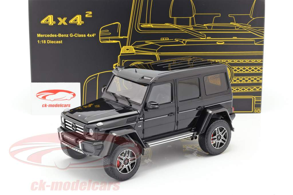 Mercedes-Benz Classe G 4x4² obsidian nero 1:18 Almost Real