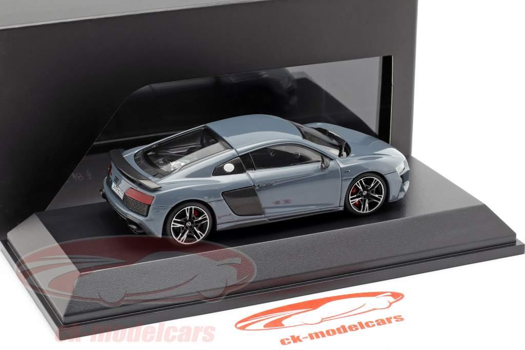 Audi R8 Coupe MJ19 Kemora cinza 1:43 Jaditoys