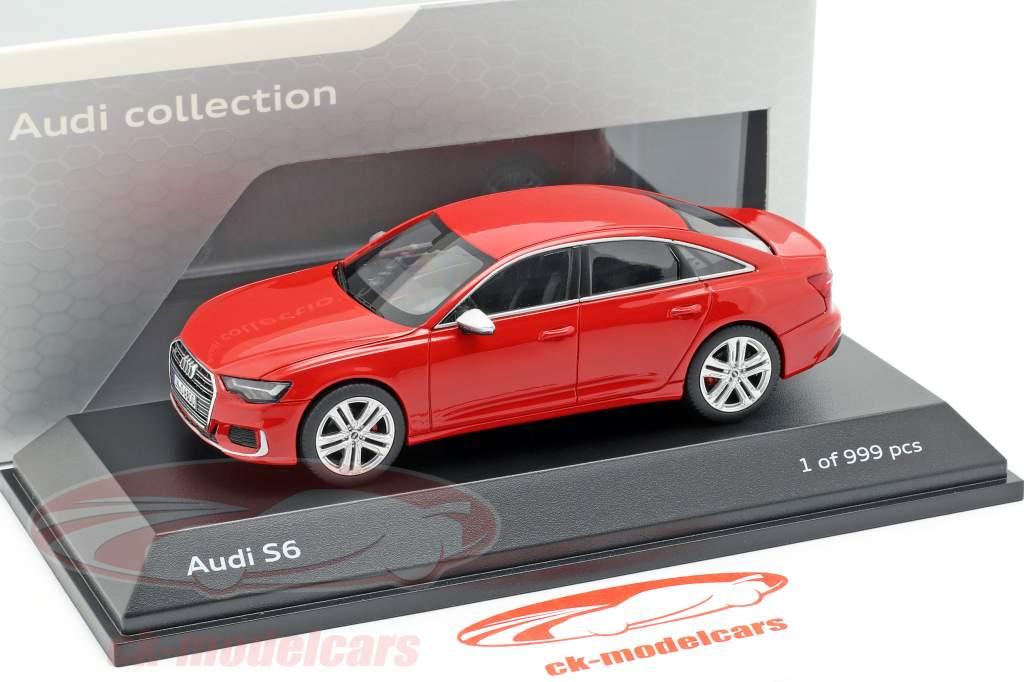 Audi S6 tango rouge 1:43 Jaditoys
