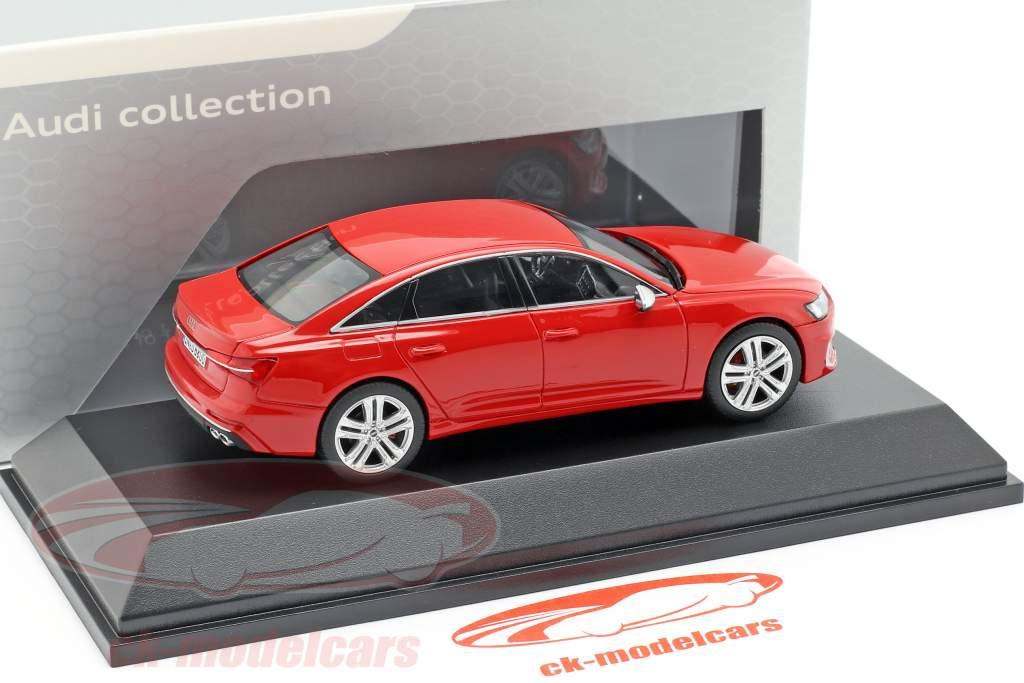 Audi S6 tango rød 1:43 Jaditoys