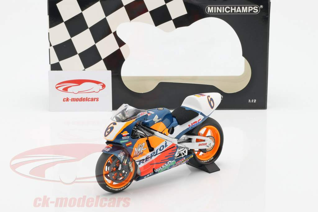 Alex Criville Honda NSR 500 #6 vincitore Europa GP MotoGP 1995 1:12 Minichamps