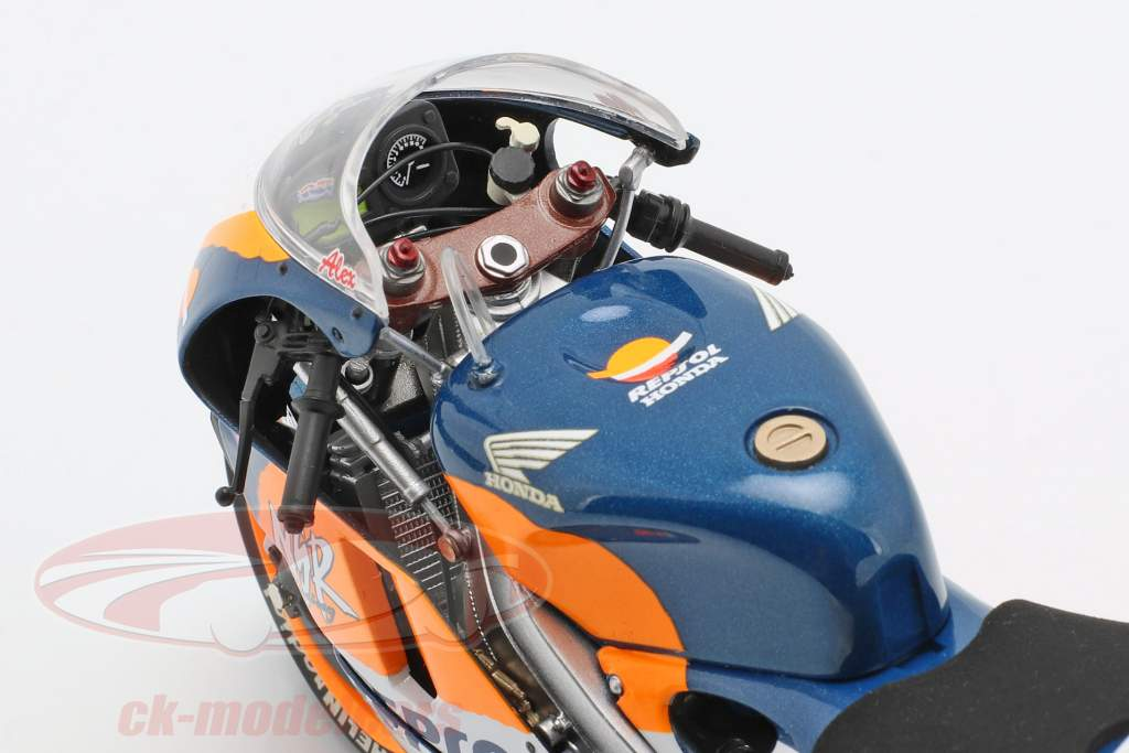 Alex Criville Honda NSR 500 #6 gagnant Europe GP MotoGP 1995 1:12 Minichamps
