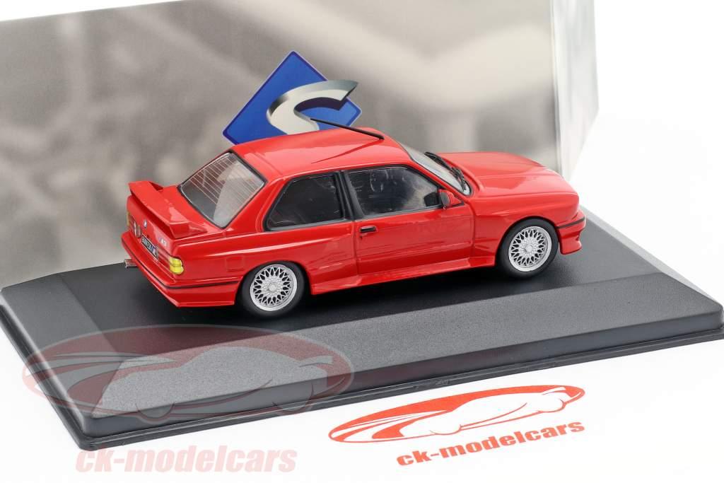BMW M3 (E30) ano de construção 1988 vermelho 1:43 Solido