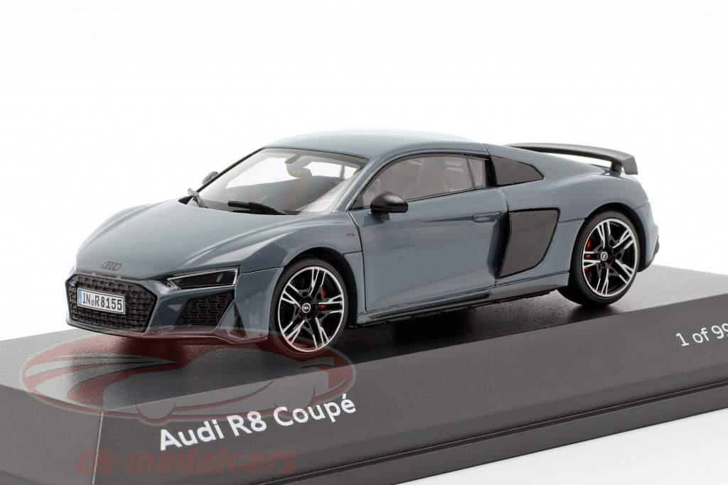 Audi R8 Coupe MJ19 Kemora grå 1:43 Jaditoys