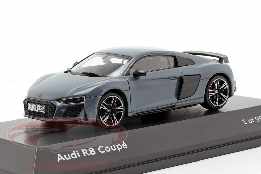 Audi R8 Coupe MJ19 Kemora grijs 1:43 Jaditoys