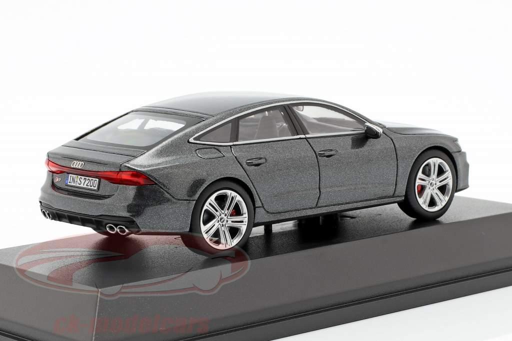 Audi S7 Sportback daytona grau 1:43 Jaditoys