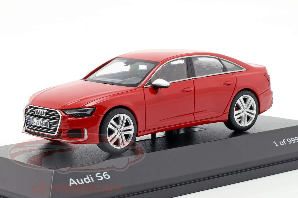 Audi S6 tango vermelho 1:43 Jaditoys