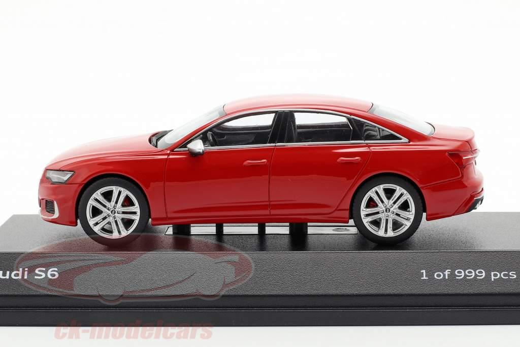 Audi S6 tango red 1:43 Jaditoys