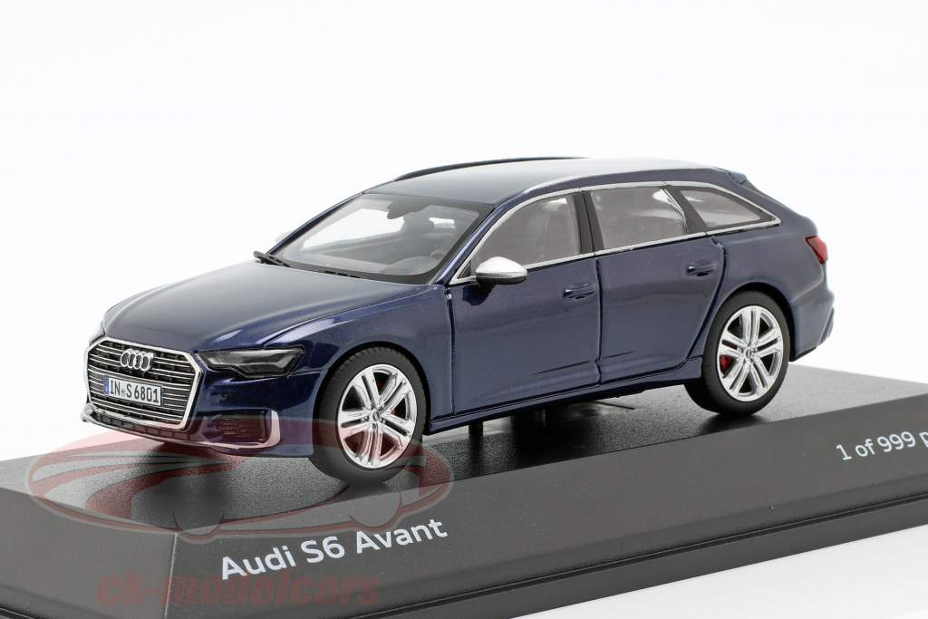 Audi S6 Avant navarra blu 1:43 Jaditoys