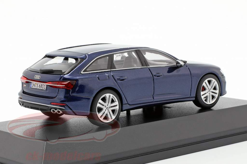 Audi S6 Avant Navarra blå 1:43 Jaditoys