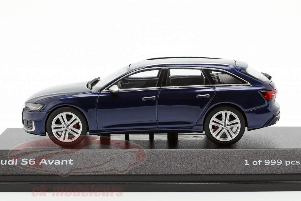 Audi S6 Avant navarra bleu 1:43 Jaditoys