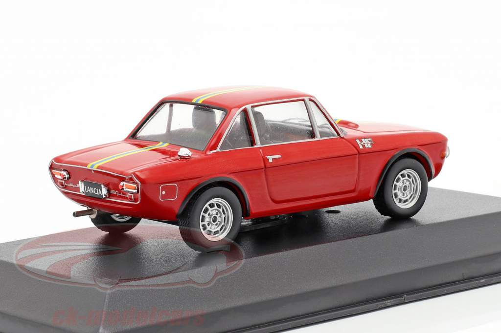 Lancia Fulvia Fanalone Baujahr 1969 rot 1:43 Solido