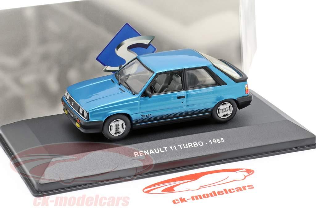 Renault 11 Turbo année de construction 1985 bleu 1:43 Solido