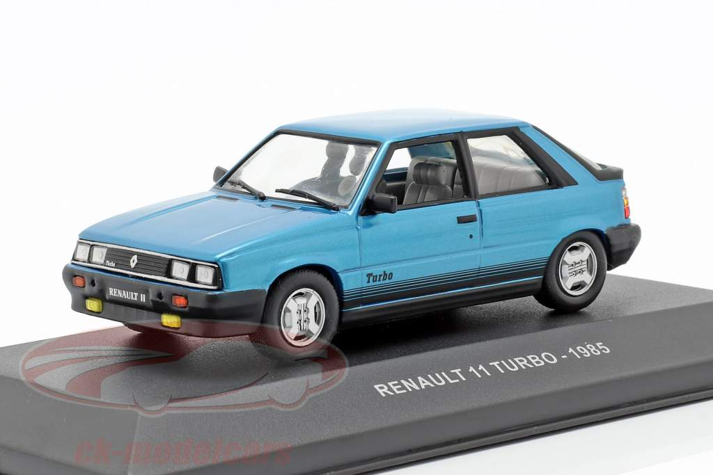 Renault 11 Turbo year 1985 blue 1:43 Solido