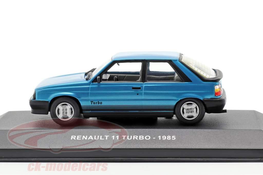 Renault 11 Turbo Opførselsår 1985 blå 1:43 Solido