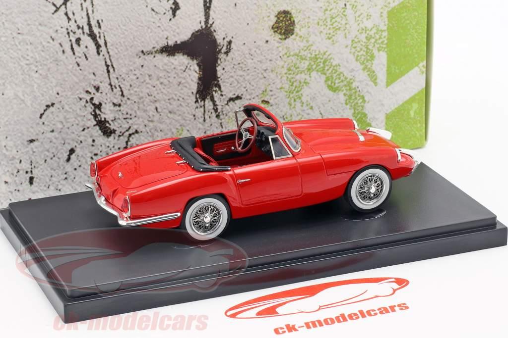 Sabra Sport Roadster Opførselsår 1962 rød 1:43 AutoCult